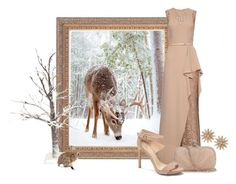 """""""Animals in the Snow"""" by cris-1121 ❤ liked on Polyvore featuring Elie Saab, Alexander McQueen, Vince Camuto, R.J. Graziano and Chicnova Fashion"""