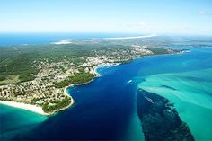 Nelson Bay Aus. We have had dozens of Holidays here and always love it!