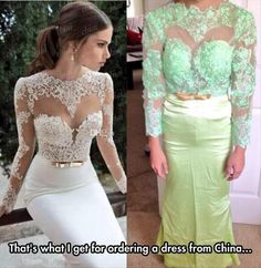 Dress From China Gone Wrong