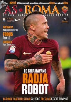 Dopo la soddisfazione in Coppa Italia, rituffiamoci nell'atmosfera del campionato attraverso le pagine del nostro Match Program dedicato a Roma-Cagliari