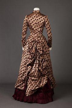 Dress. 1885 - 1886. | Goldstein Museum Of Design - gdfalksen.com