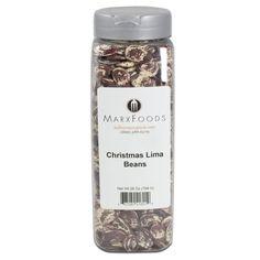 Marx Foods, Christmas Lima Beans, 28 oz.