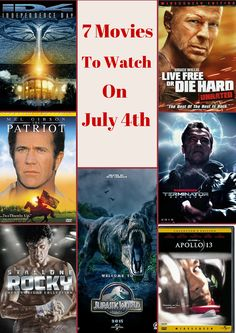 4th of july movies list