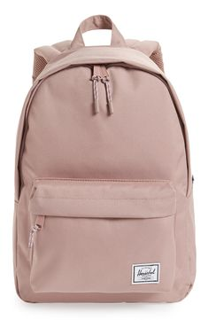 Herschel Supply Co. Classic Mid Volume Backpack - Pink Source by nordstrom aesthetic Cute Backpacks For School, Cute School Bags, Trendy Backpacks, School Bags For Girls, Girl Backpacks, Girls Bags, Best Backpacks, Vans School Bags, Popular Backpacks