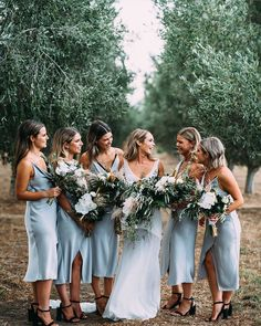1397 Best Bridesmaids In Blue Images In 2020 Bridesmaid