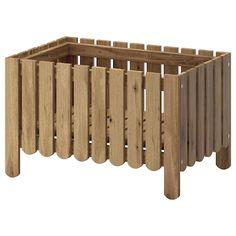 ALTAPPEN Decking, outdoor, light gray, 9 sq feet - IKEA
