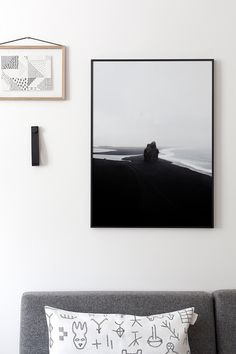 Black Beach by Coco Lapine   Poster from theposterclub.com