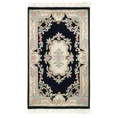 Home Decorators Collection Imperial Black 1 Ft. 9 In. x 2 Ft. 9 In. Accent Rug  on  Daily Rug Deals