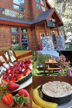 Blue Angel Cafe, South Lake Tahoe, CA-Went there this weekend.  The atmosphere, food and service was amazing!