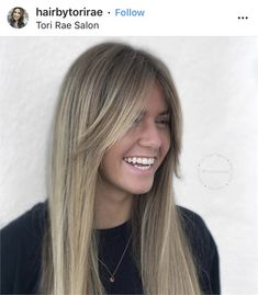 Curtain Bangs: 14 Ways to Wear Cool Girl Hair Cut - Hair Cutting - Modern Salon 14 images that showcase why the curtain bang is cool-girl haircut, plus why the trend keeps reemerging and is here to stay. Blond Hairstyles, Trending Hairstyles, Straight Hairstyles, Pretty Hairstyles, Cool Haircuts For Girls, Girl Haircuts, Hair Cuts For Girls, Medium Hair Styles, Curly Hair Styles