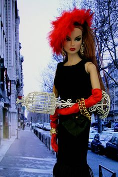 this hat and the gloves are great - Fashion Royalty Fashion Doll