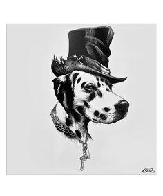 Brooklyn Dalmatian Dog Tile