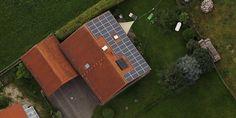 Um painel solar no telhado (Foto: Divulgação)