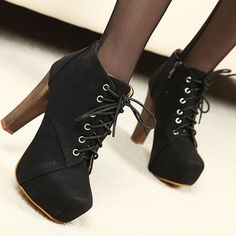 Photography Vintage High Heels | 2012 spring and autumn rough ankle boots high heels princess boots in ...