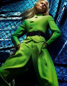Anna Ewers by Mert Alas & Marcus Piggott for Vogue Paris August 2014