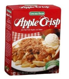 Concord Crisp Mix, Apple, 8.5 Ounce (Pack of 24) - http://www.handygrocery.com/grocery-gourmet-food/cooking-baking/pie-pastry-fillings/concord-crisp-mix-apple-85-ounce-pack-of-24-com/