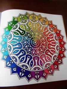 PerfectSweetColors: Een mandala kleurencirkel