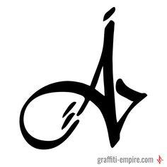 ▷ Graffiti-Buchstabe A - Street Art - Graffiti Tattoo, Graffiti Wall Art, Graffiti Drawing, Graffiti Artists, Wie Zeichnet Man Graffiti, Graffiti Tagging, Graffiti Lettering Alphabet, Alphabet Wallpaper, Wildstyle