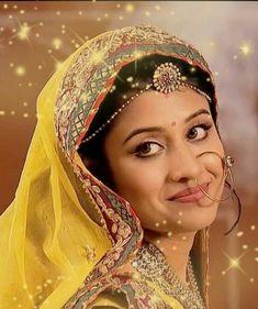 Jodha Begum from Jodha Akbar Beautiful Girl Indian, Beautiful Indian Actress, Beautiful Bride, Beautiful Bridal Makeup, Wedding Makeup Looks, Indian Goddess, Durga Goddess, Bridal Makup, Wedding Lehenga Online
