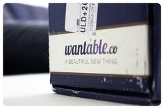 March 2013 Wantable Makeup Box - I can't wait to see what beauty products are inside! Price: $36/month -- #beauty #wantable.co #makeup #subscriptionbox