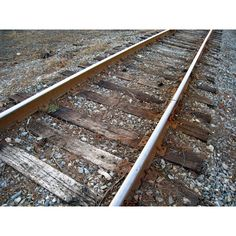 Free Stock Photos - Train Tracks ❤ liked on Polyvore featuring backgrounds, pics, pictures and railroads