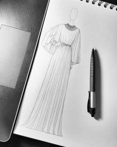Fashion Illustration Tutorial, Fashion Drawing Tutorial, Fashion Figure Drawing, Fashion Drawing Dresses, Fashion Illustration Dresses, Fashion Dresses, Dress Design Drawing, Dress Design Sketches, Fashion Design Sketchbook