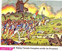 À Valmy l'armée fran