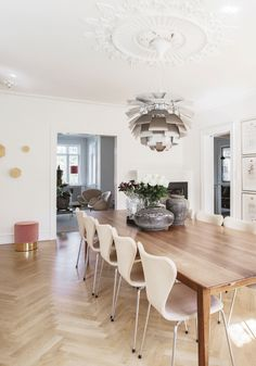 Dining Area, Dining Table, Dining Rooms, Chair Design, My Dream Home, Villa, Home And Garden, Interior Design, Stables