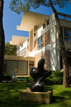 The Maeght Foundation was set up in 1964 in Saint Paul de Vence (Provence).