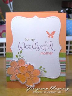 Mothers Day Card by paperprincess1973 - Cards and Paper Crafts at Splitcoaststampers