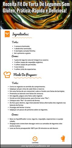 Receita Fit De Torta De Legumes Sem Glúten 👌😉  ➡️ https://segredodefinicaomuscular.com/receita-fit-de-torta-de-legumes-sem-gluten-pratica-rapida-e-deliciosa/  Se gostar da receita compartilhe com seus amigos :)  #receitasfit #receita #recipe #fit #receitafit #torta #EstiloDeVidaFitness #ComoDefinirCorpo #SegredoDefiniçãoMuscular