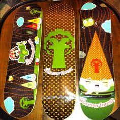Deck the hallz. Skate Decks