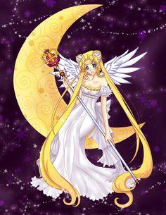 Sailor Moon-Princess Serenity by *Ichigokitten on deviantART