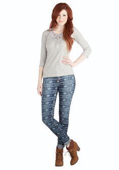 In It to Whim It Jeans   Mod Retro Vintage Pants   ModCloth.com