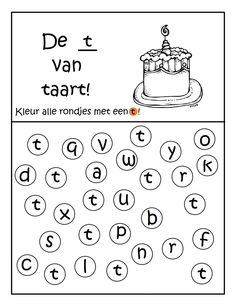 Afbeeldingsresultaat voor letter t van Letter Worksheets, Preschool Worksheets, Games For Kids, Activities For Kids, Letter School, Kindergarten Themes, Letter T, Fun Learning, Mardi Gras