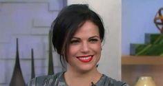 Lana on GMA (lovely smile).