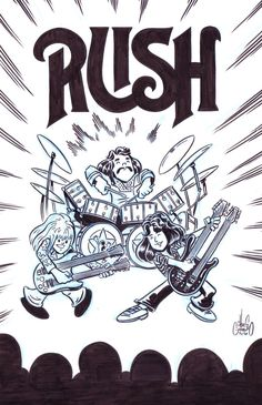 Rush sketch by Chris G