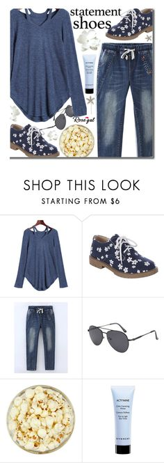 """""""(12) Double Take: Statement Shoes"""" by justkejti ❤ liked on Polyvore featuring Givenchy, Jennifer Behr, Spring, casual, casualoutfit, statementshoes and rosegal"""