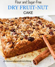 Dried Fruit, Sugar Free, Banana Bread, Cake Recipes, Cereal, Cheesecake, Light Side, Healthy, Breakfast