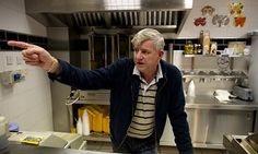 Colin Barton, owner of the Halal Chip Shop, claims a Roma family offered to sell him their baby for £250. Photograph: Christopher Thomond fo...