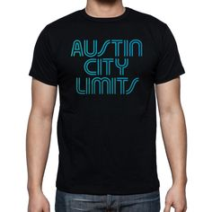 Austin City Limits Black T-Shirt Size S-2XL - T-Shirts