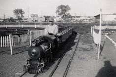 Sioux Falls offered a children's train in the 1950s. Joyland park operated until 1963.