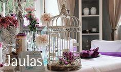 Alquiler Jaulas como centros de mesas
