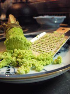 Wasabi. Un producto totalmente natural. Un imprescindible para tu sushi.