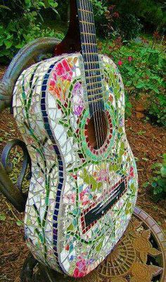 Good use for an old guitar