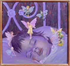 William  Ireland-Sweet Dreams (oil on board)