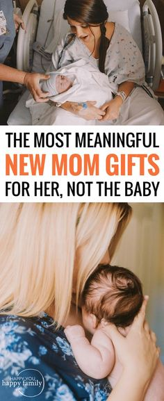 These are the BEST new mom gifts to make a first-time mom feel special and loved. No gifts for the baby on this list, and no sad leftovers from the registry. Just the most thoughtful gifts for new moms. When you want to know what to get a new mother after birth, this gift guide has all the best creative and unique ideas--from gifts of pampering to care packages to sentimental gifts and more.