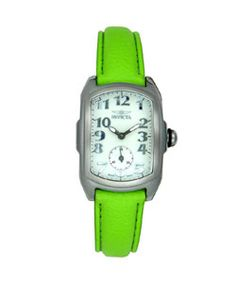 Invicta Lupah Lime Green Women's Watch
