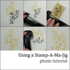 Using A Stamp-A-Ma-Jig - my FAVORITE SU tool!