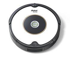 IRobot Roomba 605 Saugroboter (hohe Reinigungsleistung reinigt alle Hartböden und Teppiche geeignet bei Tierhaaren) weiß